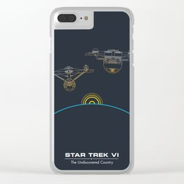 ST6 Inspired poster Clear iPhone Case