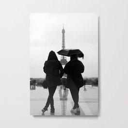Eiffel Tower(s) Metal Print