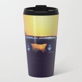 Time travelling aliens Travel Mug
