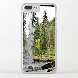 Spouting Rock Waterfall, Colorado Clear iPhone Case