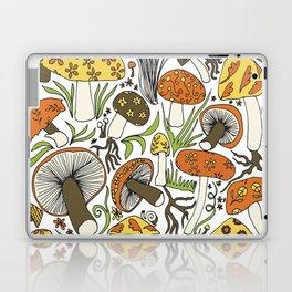 Hand-drawn Mushrooms Laptop & iPad Skin