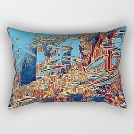 Hidden Atlantis Rectangular Pillow