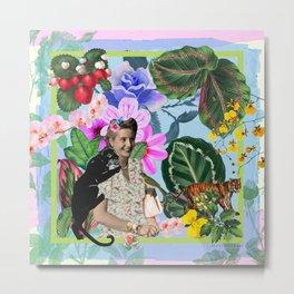 Evita in the jungle Metal Print