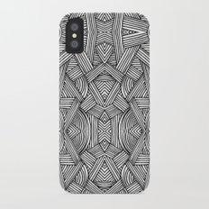 M zigzag iPhone X Slim Case