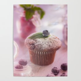 Sweet fruit muffin fine  Poster