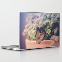 clover Laptop & iPad Skins featuring Clover by Juste Pixx Photography