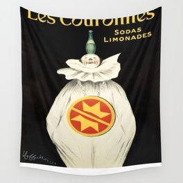 Vintage poster - Les Couronnes Wall Tapestry