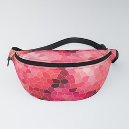 mosaic structure pattern background Fanny Pack