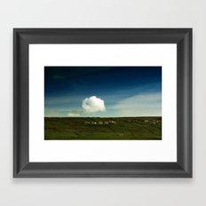 Ove The Hill Framed Art Print