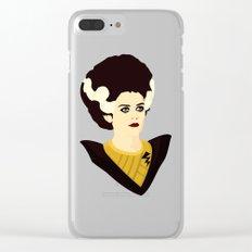 Magenta Clear iPhone Case