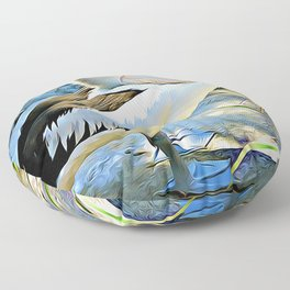 Pelican Floor Pillow