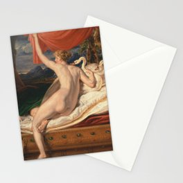 Venus Rising from her Couch (1828) - James Ward Stationery Cards
