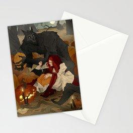 Carving Jack-o-Lanterns Stationery Cards