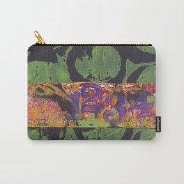 Circles and Numbers Carry-All Pouch