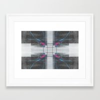 law Framed Art Prints featuring Law by torbergson