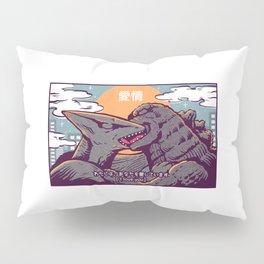 Kaiju kiss Pillow Sham