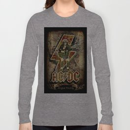 AC/DC angus young Long Sleeve T-shirt