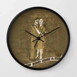 From Out Life's Muck & Mire Wall Clock