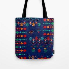-A17- Anthropologie Moroccan Blue Artwork. Tote Bag