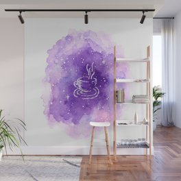 THERE'S COFFEE IN THAT NEBULA Wall Mural