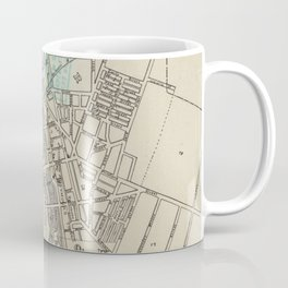 Vintage Map of Rochester NY (1838) Coffee Mug