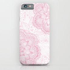 Pink mandalas iPhone 6s Slim Case
