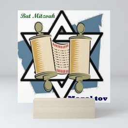 Bat Mitzvah Mini Art Print