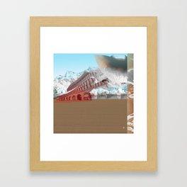 atmosphere 3 · The Ice Kiss Framed Art Print