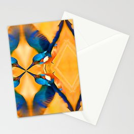 Kingfisher 3 Stationery Cards