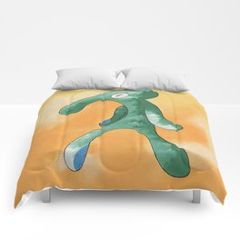 smvez x bold and brash Comforters