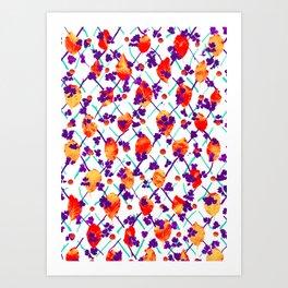 Natural Pattern #6 Art Print