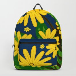 Cup Plant Flowers Backpack