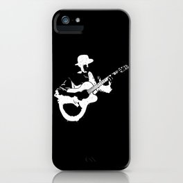Musician playing iPhone Case