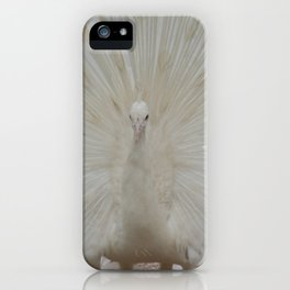 SHOWING OFF IN WHITE iPhone Case