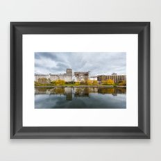 The old factory Framed Art Print