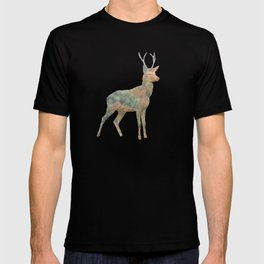 Young Stag double exposure T-shirt