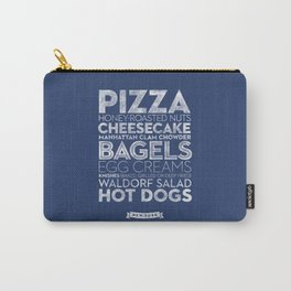 New York — Delicious City Prints Carry-All Pouch