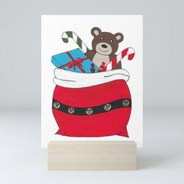 Santa Sack Mini Art Print
