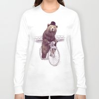 jazzberry Long Sleeve T-shirts featuring Barnabus by Eric Fan