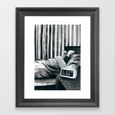 6.66 AM Framed Art Print