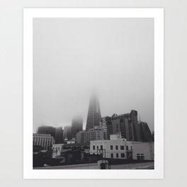 Foggy San Francisco Art Print
