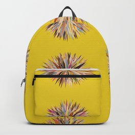 Sunset Poms on Yellow Field Backpack