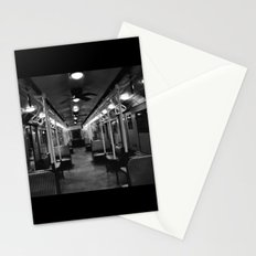 New York Subway Car #2 Stationery Cards