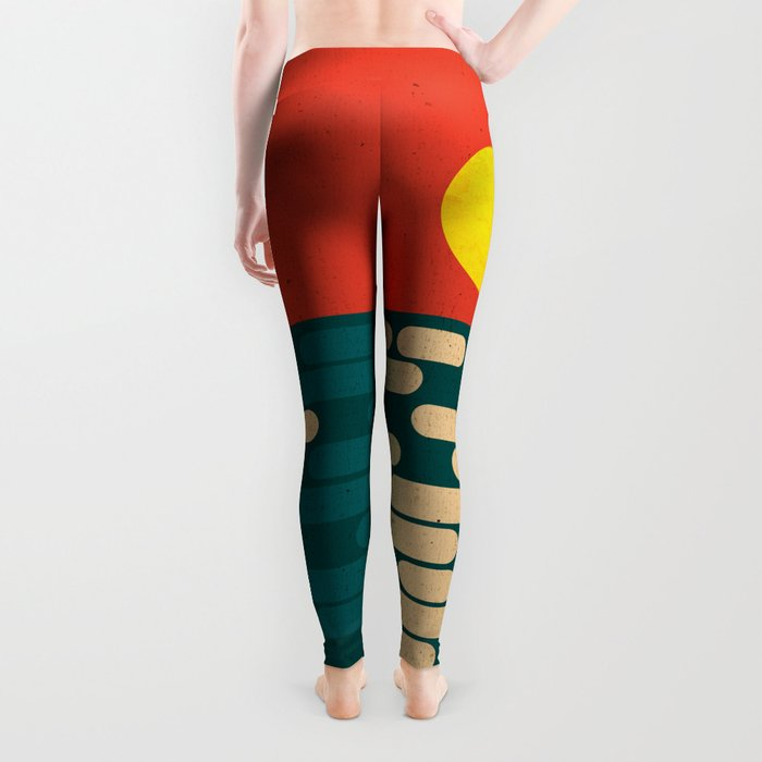 Sun Over The Sea - Afternoon Leggings