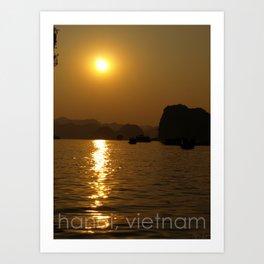 hanoi, vietnam Art Print