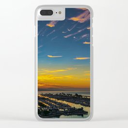 Dawn over Dana Point Clear iPhone Case