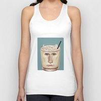 russian Tank Tops featuring White Russian by Powersimon
