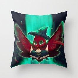 bird bard Throw Pillow