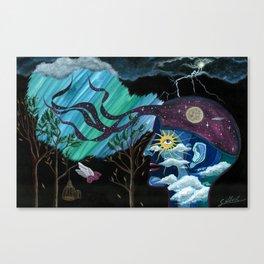 Creativity Heals Canvas Print