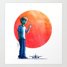 Sayonara Art Print